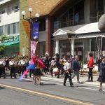 五日市にパレードがやってきた!