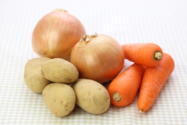 スマホで買い物リストの野菜