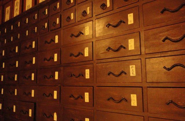 薬屋のひとりごと 薬棚